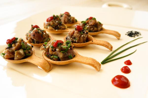 Draeger's Ahi Tuna Poke Spoon