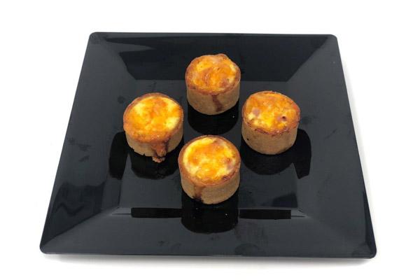 Draeger's Quiche Tartlets, Ham & Gruyere