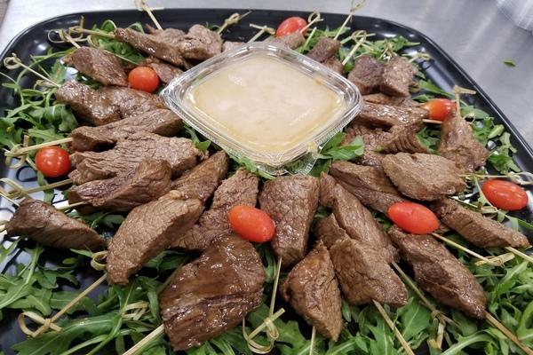 Draeger's Beef Saté