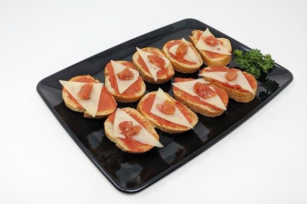 Draeger's Sun Dried Tomato Crostini