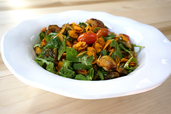 Draeger's Sriracha Roasted Brussels Sprouts & Yellow Carrot Salad