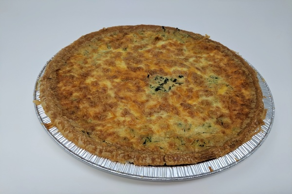 Draeger's Quiche - Spinach Large