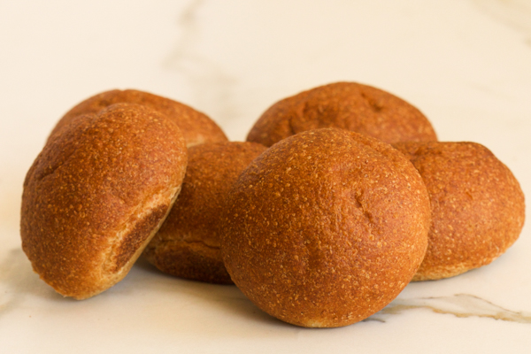 Draeger's Wholewheat Rolls - Package of 6