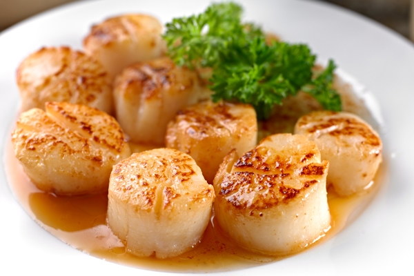 Pan-Seared Scallops with Beurre Blanc