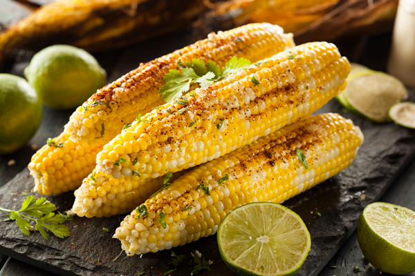 rilled Corn with Spicy Lime Butter