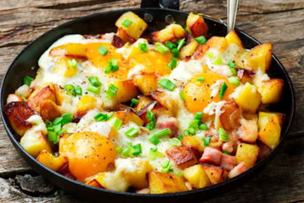 Potato & Bacon Hash
